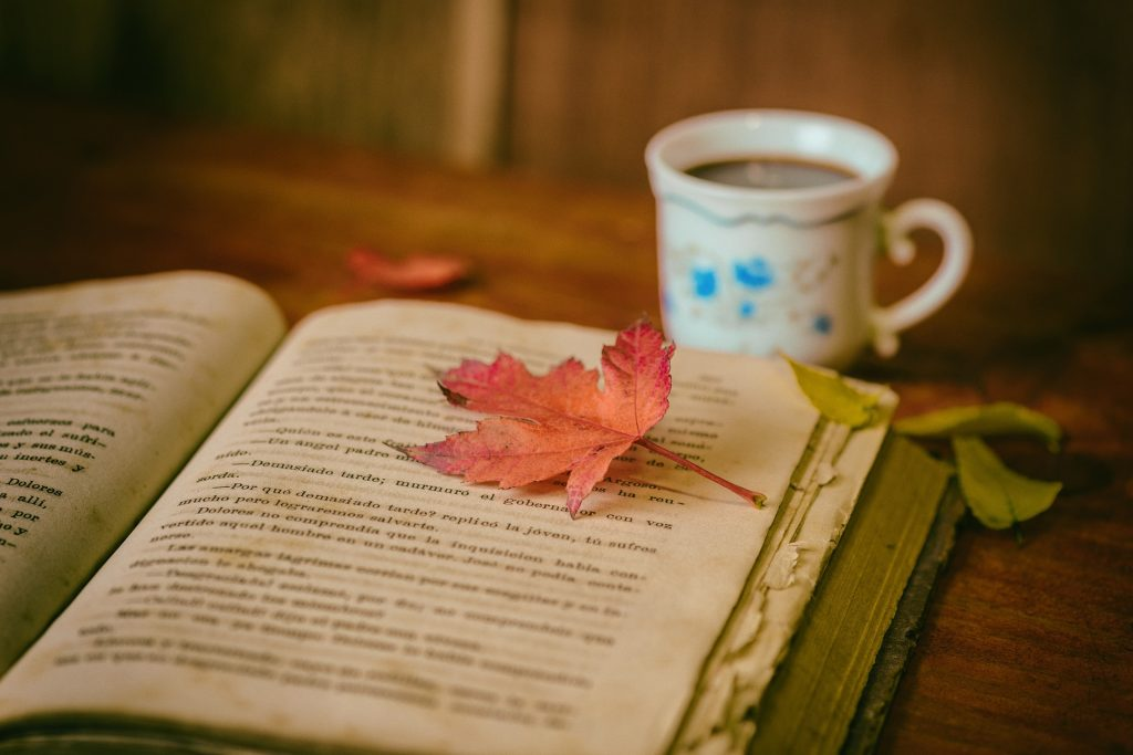 Books, Leaves and Coffee